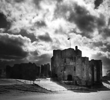 Light over the Castle by Stevie Mancini