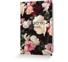 Supreme PCL Media Cases, Pillows, and More. Greeting Card
