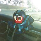 Mega Man Pixel Art by RoboBarb