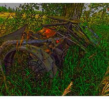 Abandoned Farm Machinery - www.jbjon.com by Jonathan Baldock