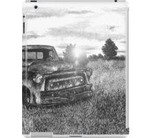 Abandoned Pickup Truck - www.jbjon.com iPad Case/Skin