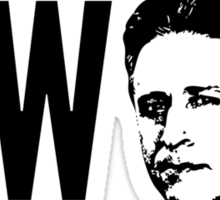 What Would Stewart Do? Sticker