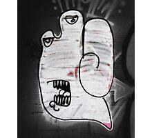 Handy the Graffiti Monster Photographic Print