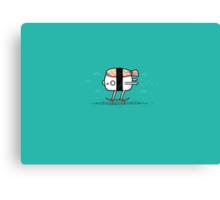 Sushi Skate Canvas Print
