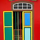 Colourful Window #2 by Malcolm Heberle
