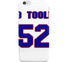 National baseball player Denny O'Toole jersey 52 iPhone Case/Skin