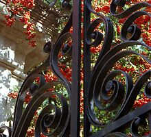 Charleston Gate & Flora by Benjamin Padgett