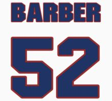 National baseball player Brian Barber jersey 52 by imsport