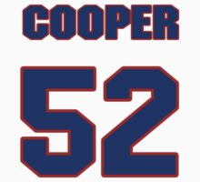 National baseball player Brian Cooper jersey 52 by imsport