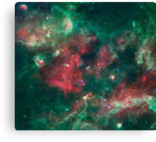 Stars Brewing in Cygnu X Canvas Print