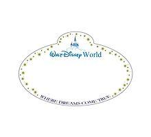 Disney Cast Member Blank Name Badge by JakeyJurin