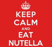 Keep Calm and eat Nutella Kids Clothes