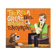 Disney Carousel Of Progress, There's A Great Big Beautiful Tomorrow by JakeyJurin