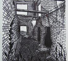 Barber Paper Mill Ruins- 1823 - www.jbjon.com by Jonathan Baldock