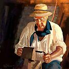 Woodworker by Barry Thomas