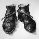 Shoe portrait 03 by Ronald Wigman