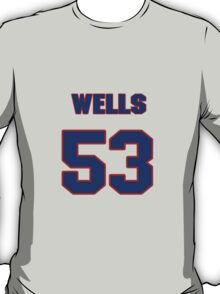 National baseball player Casper Wells jersey 53 T-Shirt