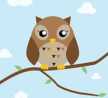 Cute Owl by Yumipyuu