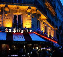 Impressions of Paris - Latin Quarter Night Life by Georgia Mizuleva