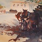 Beechworth Clydesdales by Jean Cowan