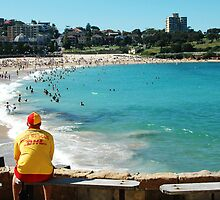 Coogee Lifeguard  by Amanda Cole