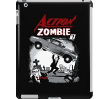 Action Zombie #1 iPad Case/Skin