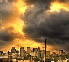 Storm Over North Sydney by Maggiebee