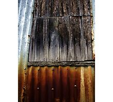 Rust & Wood - West End Series Photographic Print