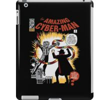 The Amazing Cyber-Man! iPad Case/Skin
