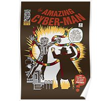 The Amazing Cyber-Man! Poster