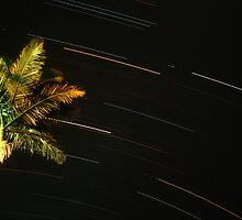 Startrails at Byron Bay, NSW by Speedy