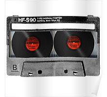 Cool Cassette Tape Poster