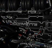 1966 CORVETTE ENGINE by Fran James