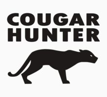 COUGAR HUNTER Funny Geek Nerd by norowelang
