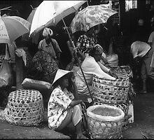 Selling at Denpasar by Damian McGrath