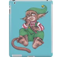 Santa's Unhappy Little Helper iPad Case/Skin