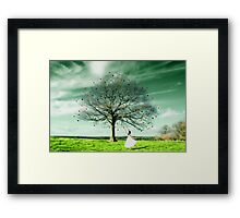 Searching For Just One Good Heart... Framed Print