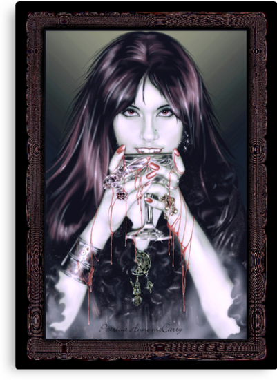Goth Vamp by Patricia Anne McCarty-Tamayo