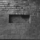 The Brick  Wall by Paul Martin