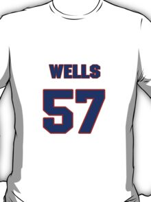 National baseball player Casper Wells jersey 57 T-Shirt