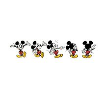 Mickey Mouse Poses by JakeyJurin