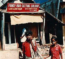 Fancy Hair Saloon South India by Damian McGrath