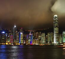 Hong Kong by Night by Nicholas Coote