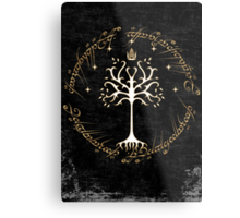 tree of gondor Metal Print