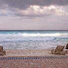 On the Beach by Deri Dority