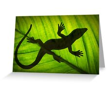 Flat Out Like a Lizard . . . . . . . Greeting Card