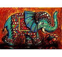 Rajah the Elephant Photographic Print