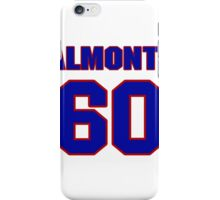 National baseball player Erick Almonte jersey 60 iPhone Case/Skin