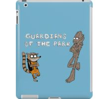 guardians of the park iPad Case/Skin