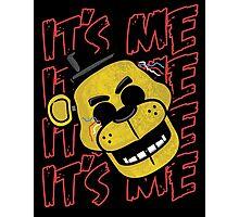Five Nights At Freddy's It's Me Golden Freddy Fazbear Photographic Print